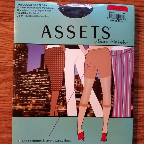 1c72225ae043b ASSETS by Sara Blakely Intimates & Sleepwear | Assets Crop Tights ...